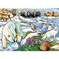 Arctic Adventure Tray Puzzle