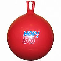 "Gymnic Hop Ball 55"" - Red"