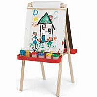 Beka Easel - Dry Erase Board with Plastic Trays