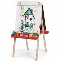 Beka Easel - Dry Erase Board with Wood Trays