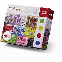 Color City 24 Piece Puzzle