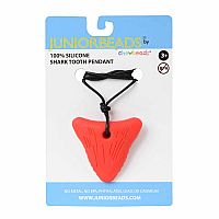 Chewbeads Shark Tooth Red