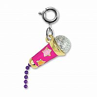 CHARM IT STAR MICROPHONE CHARM