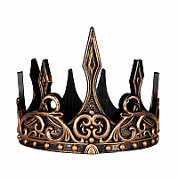 MEDIEVAL CROWN GOLD/BLACK