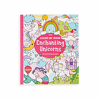 Color-in Book Enchanting Unicorn