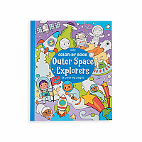 Color-in Book Outer Space Explorer