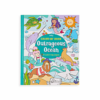 Color-in Book Outrageous Oceans