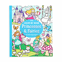 Color-in Book Princesses & Fairies