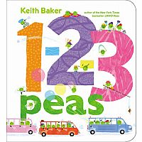 1-2-3 PEAS BOARD BOOK