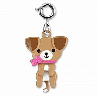 CHARM IT SWIVEL PUPPY CHARM