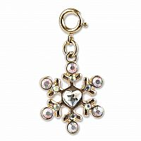 CHARM IT GOLD SNOWFLAKE CHARM