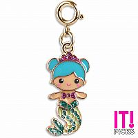 CHARM IT GOLD SWIVEL MERMAID CHARM