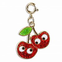 CHARM IT GOLD CHERRY FRIENDS CHARM