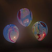 Illooms Marble Balloons 5 Pack