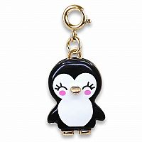 CHARM IT GOLD PENGUIN CHARM