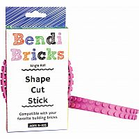 Bendi Bricks Single Roll - Pink