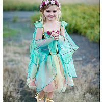 Fairy Blossom Dress with Wings (Med)