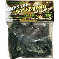 Grenade Style Water Balloons