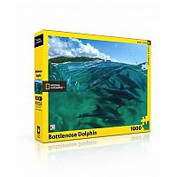 Bottlenose Dolphins 1000pc Puzzle