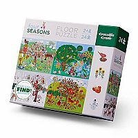 Four Seasons 24-Piece Puzzle