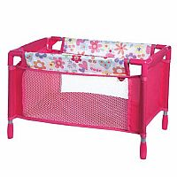 Adora Doll Flower Playpen Bed