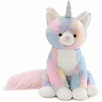 Rainbow Shimmer Caticorn, 9 In