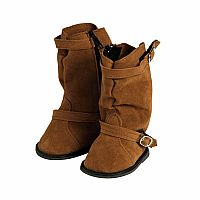 Adora Brown Slouchy Boot