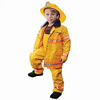 Jr Firefighter with Helmet 4/6