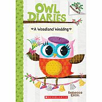 A Woodland Wedding: A Branches Book (Owl Diaries #3): A Branches Book