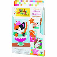 Sticky Mosaics - Travel Pack - Kittens