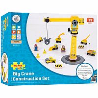 Big Yellow Crane Construction Set