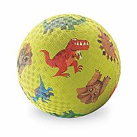 "7"" Green Dinosaur Playball"