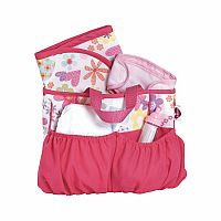 Diaper Flower Bag with Accessories