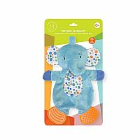 Elephant Snuggle Blankie Teether