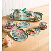 Tin Tea Set Fairy