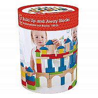 Build Up Away Blocks 100 Piece