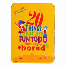 20 Things To Do When You're Bored