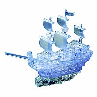 3D Crystal Puzzle Pirate Ship