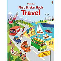 First Sticker Book, Travel