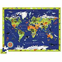 Discover World Animals 100 pc Puzzle