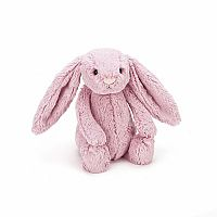 Bashful Bunny Tulip Pink Small by Jellycat