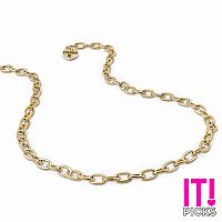 CHARM IT GOLD NECKLACE