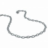 CHARM IT SILVER CHAIN NECKLACE