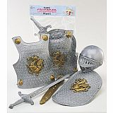 Crusader Play Set - Silver