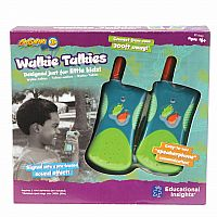 GeoSafari Walkie Talkies