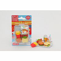 BC FAST FOOD ERASERS