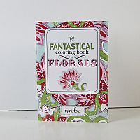 Fantastical Florals Coloring Book