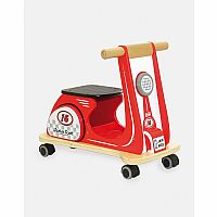 JAMM SCOOT RACER RED
