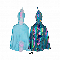 UNICORN/DRAGON REVERSIBLE CAPE
