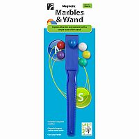 Magnetic Marbles and Wand